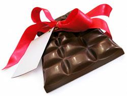 Шоколадка в подарок